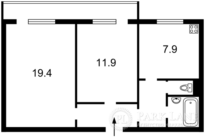 Квартира B-66276, Героїв Дніпра, 43, Київ - Фото 3