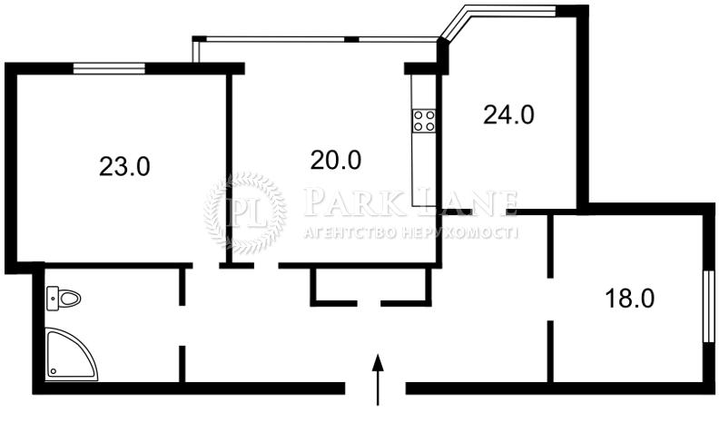 Квартира Героев Сталинграда просп., 24а, Киев, R-2024 - Фото 2