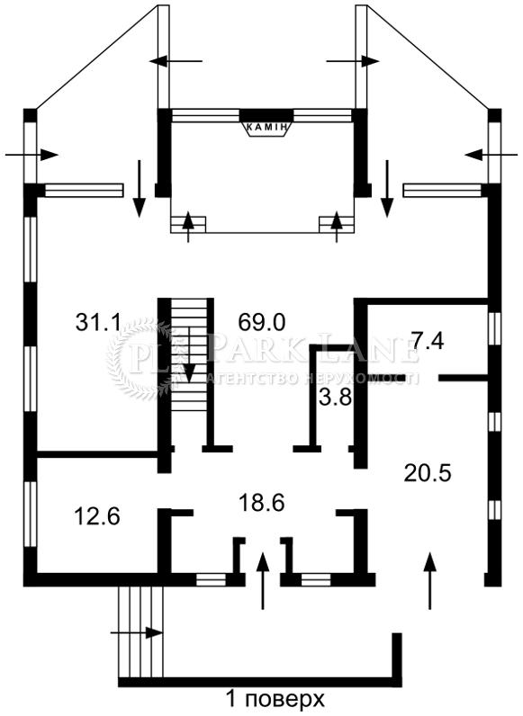 Будинок Козин (Конча-Заспа), R-5552 - Фото 2