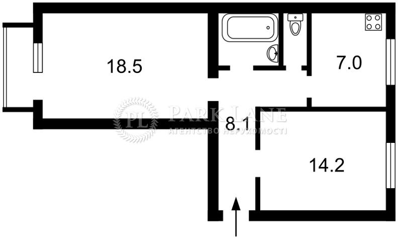 Квартира Кловский спуск, 10, Киев, R-5546 - Фото 2