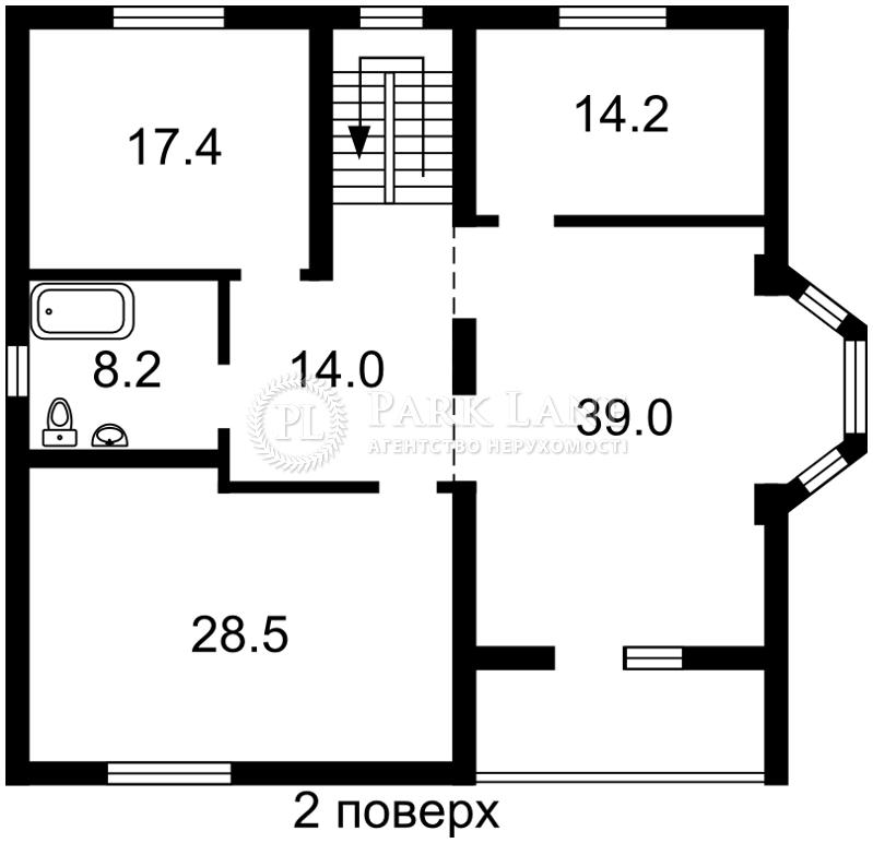 Дом ул. Абрикосовая, Киев, Z-116135 - Фото 3