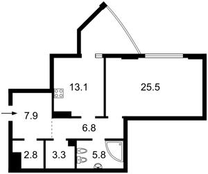 Квартира J-23761, Глибочицька, 32в, Київ - Фото 5