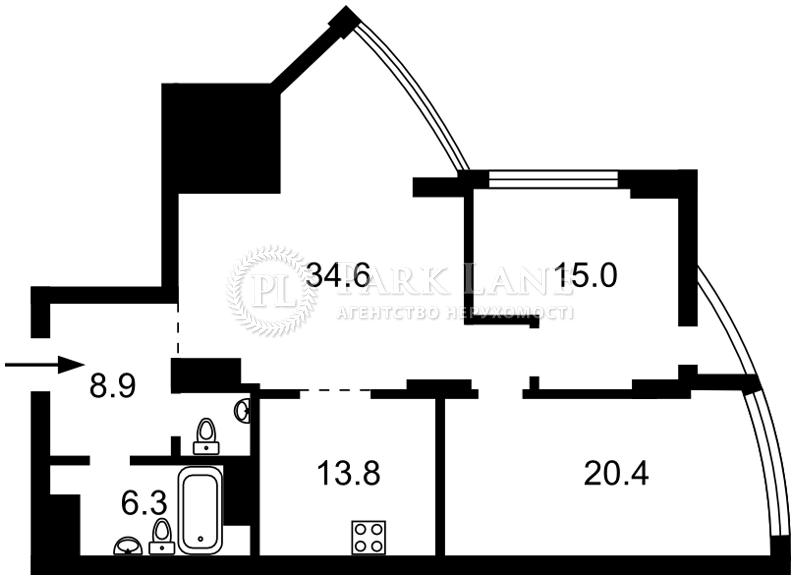 Квартира ул. Глубочицкая, 32в, Киев, J-23762 - Фото 2