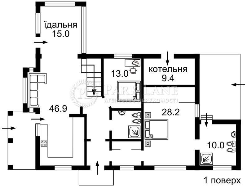Дом Z-1592274, Лесники (Киево-Святошинский) - Фото 2