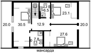 Дом Z-1592274, Лесники (Киево-Святошинский) - Фото 3