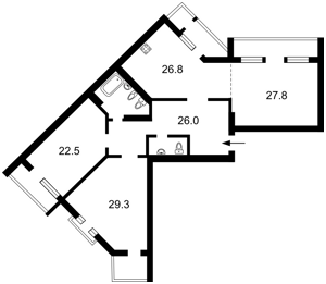 Квартира H-39407, Коновальца Евгения (Щорса), 44а, Киев - Фото 7