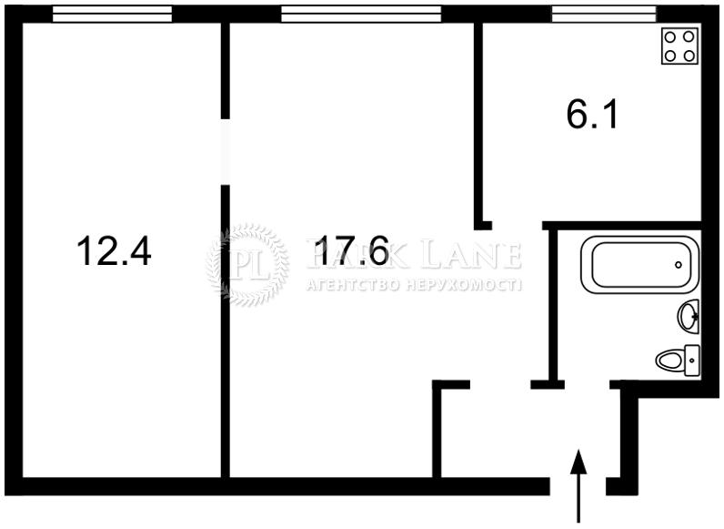 Квартира ул. Подвысоцкого Профессора, 20, Киев, R-7795 - Фото 2