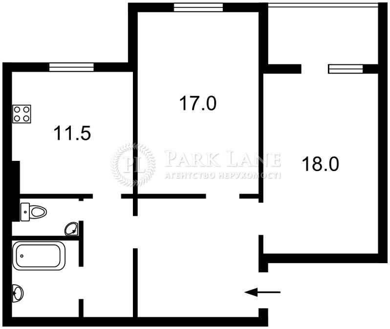 Квартира R-4853, Науки просп., 60а, Киев - Фото 3