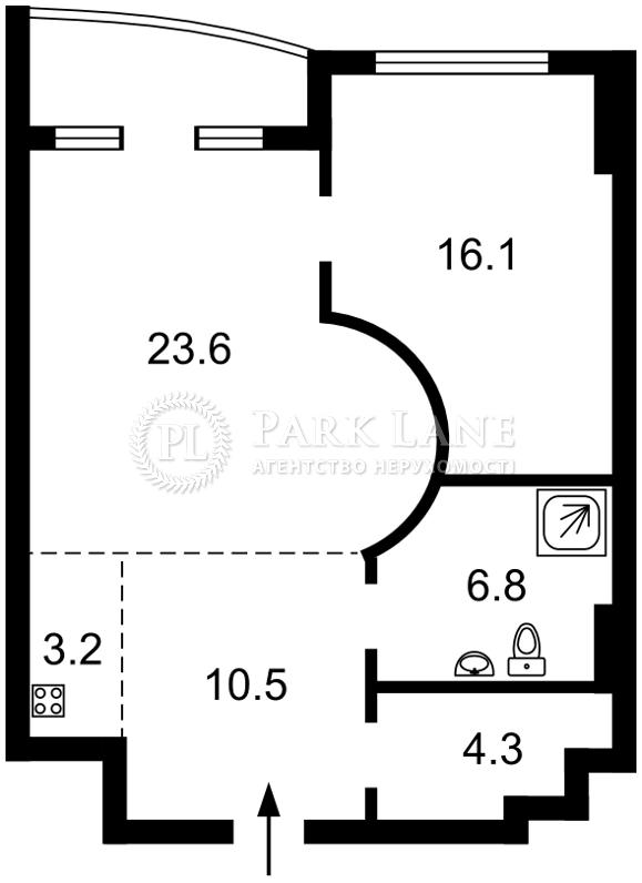 Квартира ул. Жилянская, 59, Киев, B-94465 - Фото 2