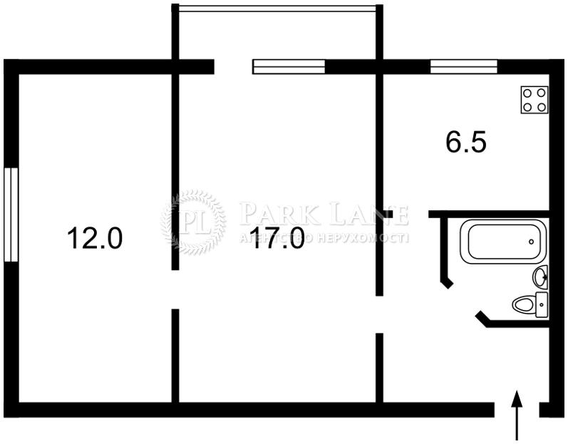 Квартира ул. Подвойского, 4, Киев, X-33737 - Фото 2