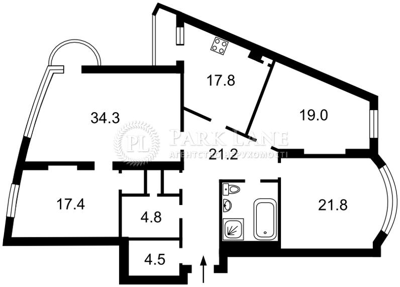 Квартира ул. Старонаводницкая, 6б, Киев, R-7485 - Фото 2