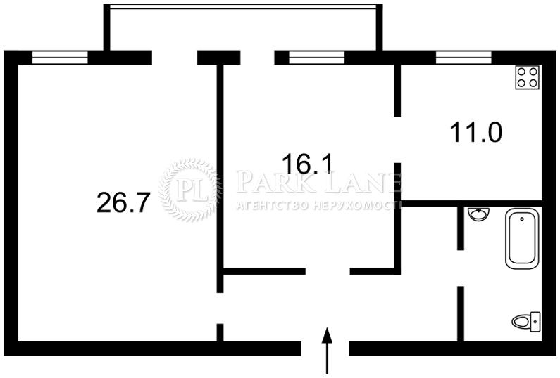 Квартира ул. Михайловская, 24а, Киев, C-87774 - Фото 2