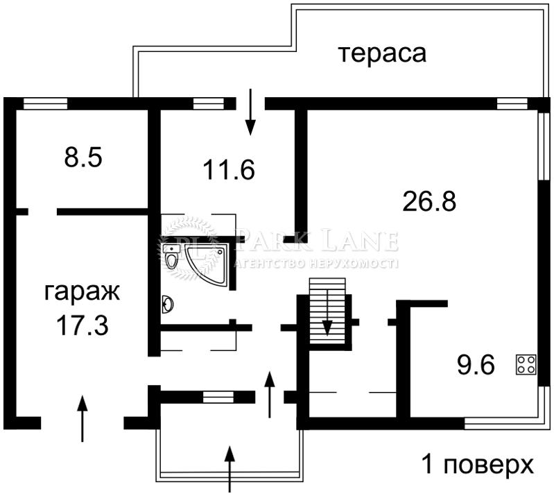 Будинок Козин (Конча-Заспа), R-6991 - Фото 2