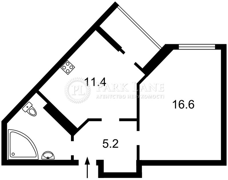 Квартира ул. Вышгородская, 45, Киев, X-35606 - Фото 2