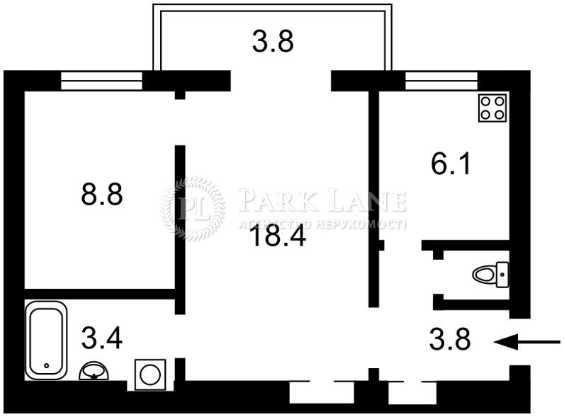 Квартира ул. Большая Васильковская, 116, Киев, J-23864 - Фото 2