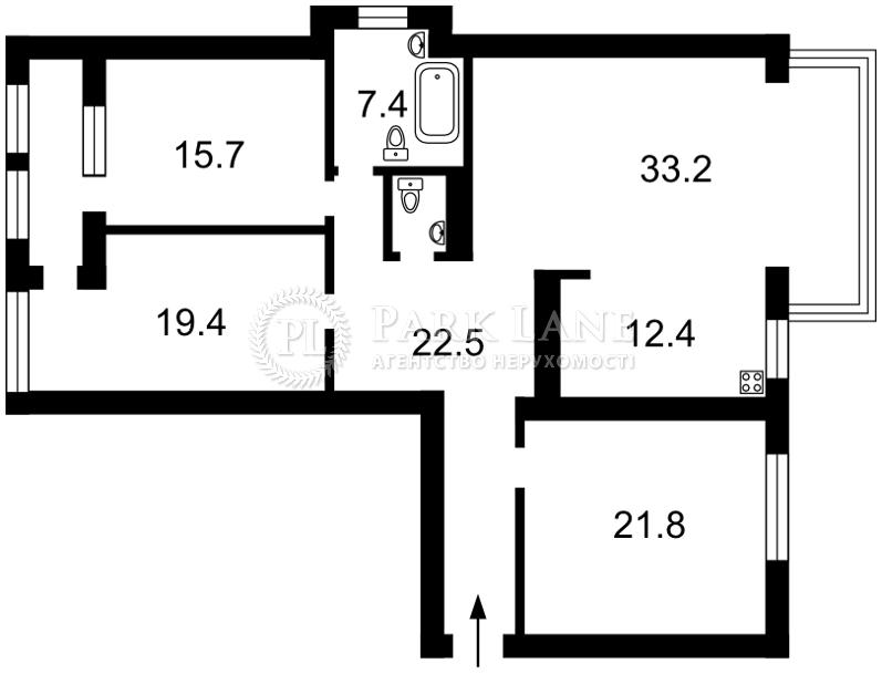 Квартира ул. Макеевская, 10б, Киев, R-3966 - Фото 2