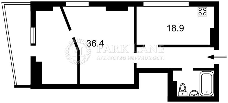 Квартира ул. Деловая (Димитрова), 2б, Киев, Z-145486 - Фото 2