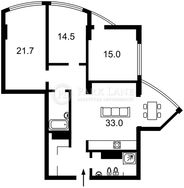 Квартира ул. Глубочицкая, 32в, Киев, J-23898 - Фото 2
