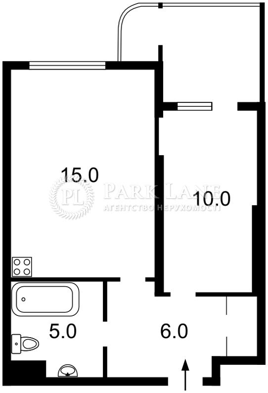 Квартира ул. Кондратюка Юрия, 5, Киев, R-7489 - Фото 2