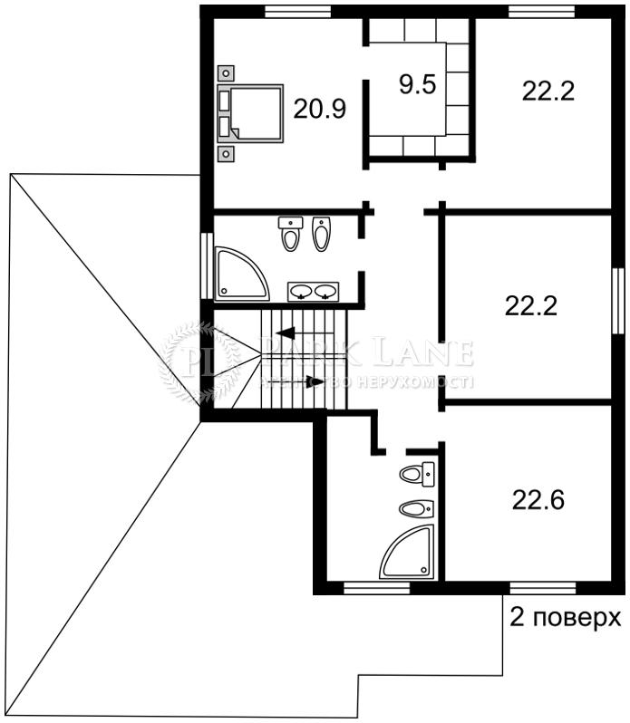 Дом Ходосовка, R-7459 - Фото 3