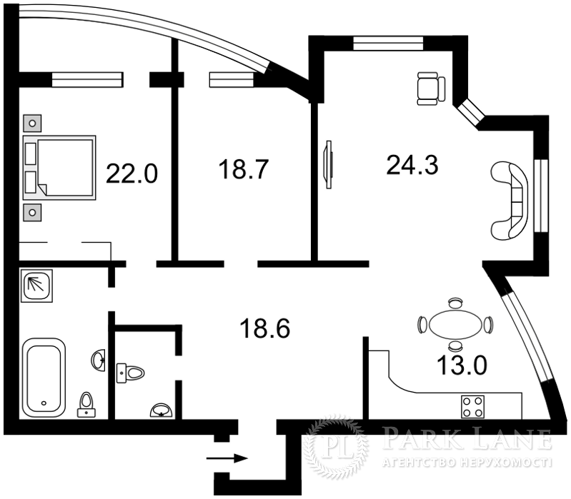 Квартира Героїв Сталінграду просп., 4а, Київ, R-8765 - Фото 2