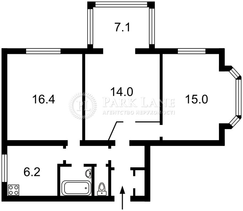 Квартира K-24895, Будівельників, 23, Київ - Фото 3