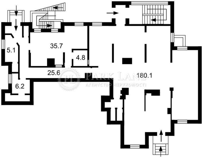 Нежилое помещение, ул. Калнишевского Петра (Майорова М.), Киев, Z-232172 - Фото 2