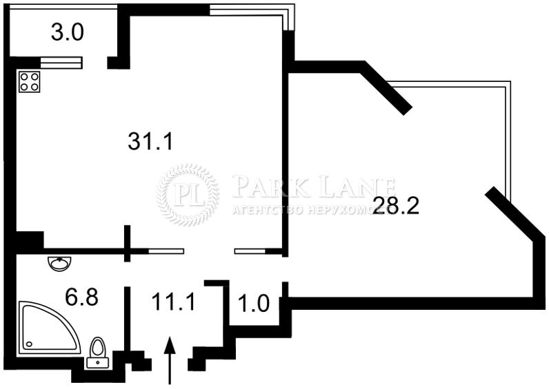 Квартира ул. Соломенская, 15а, Киев, R-9202 - Фото 2