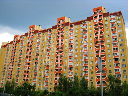 Квартира Ахматовой, 43, Киев, R-21590 - Фото