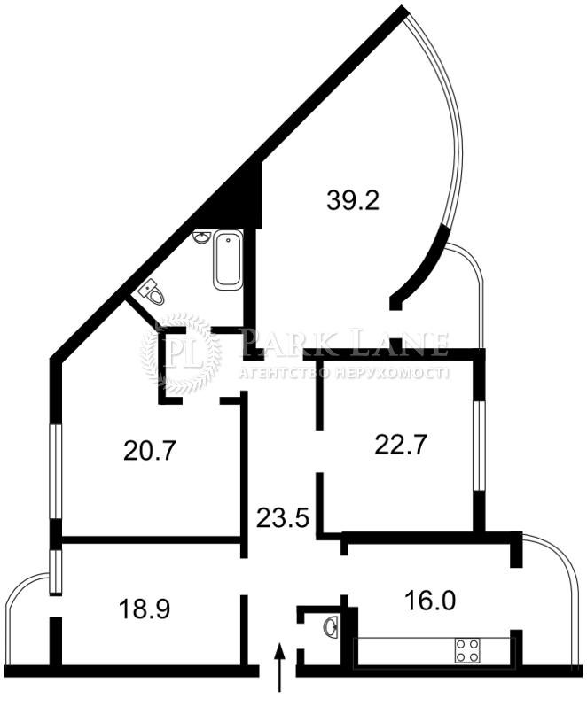 Квартира J-17232, Голосіївський проспект (40-річчя Жовтня просп.), 30б, Київ - Фото 4